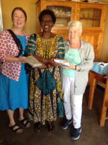 A Partnership in Caring volunteers Lynn MacDonald and Carolyn Rideout with Josepha at ADAR